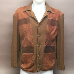 VTG Vintage  MW Men Sweater coat Jacket